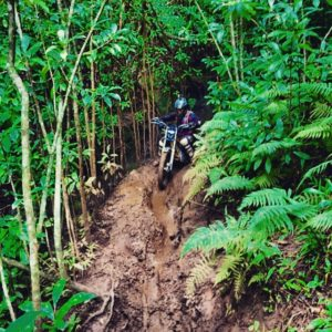 Dirt biking Hawaii Jungle