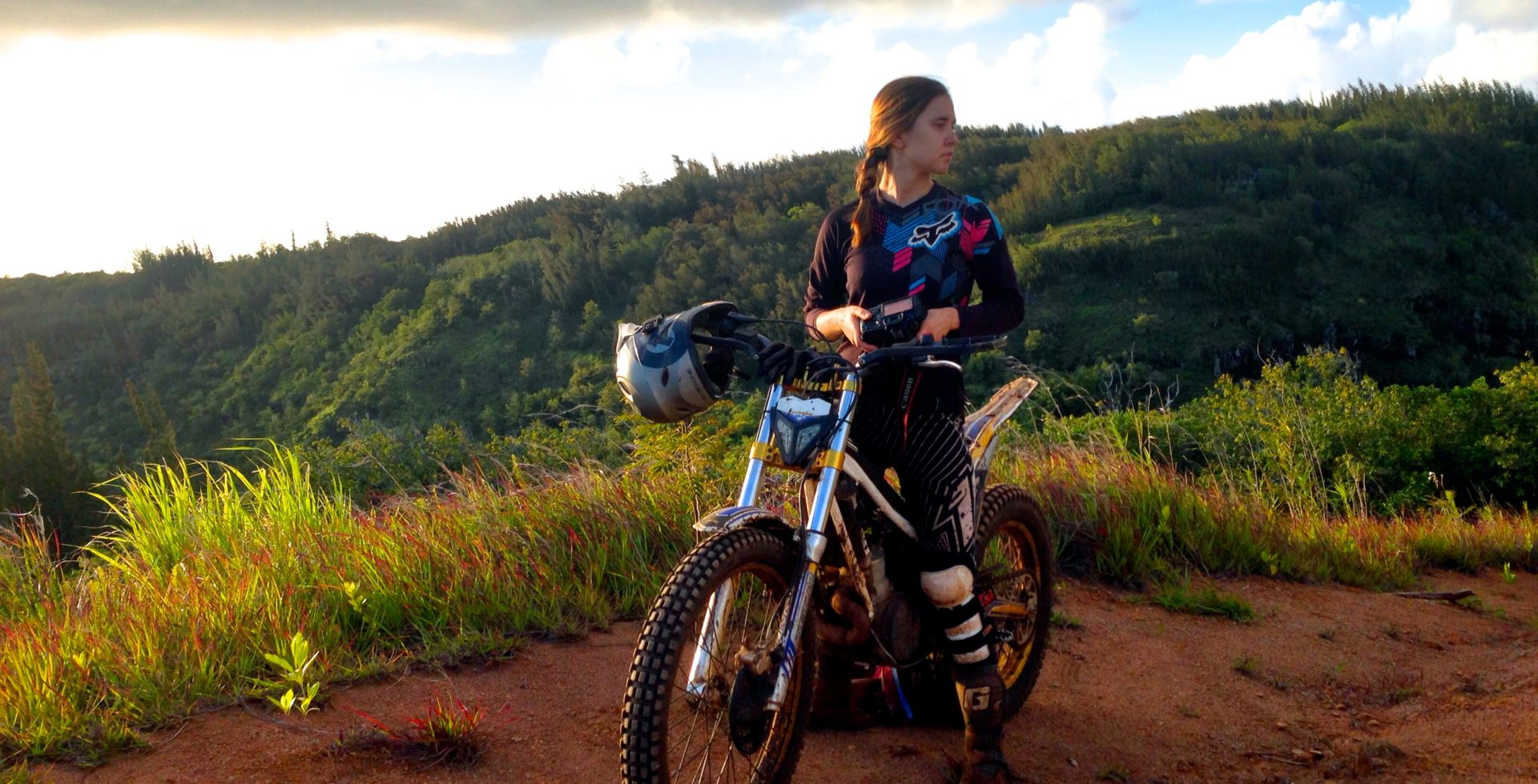 Dirt biking in Hawaii